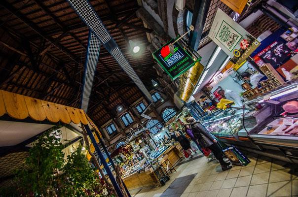 Le marché couvert de Cahors