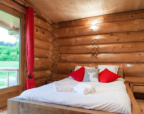 Dormir dans une cabane de trappeur en Gironde