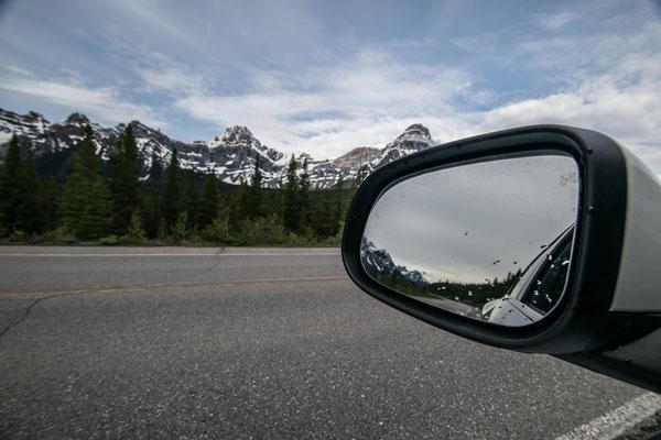 sur l'Icefield Parkway au Canada - Auteur : Trip85.com