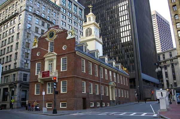 Old State House, l'un des plus vieux bâtiments de la ville