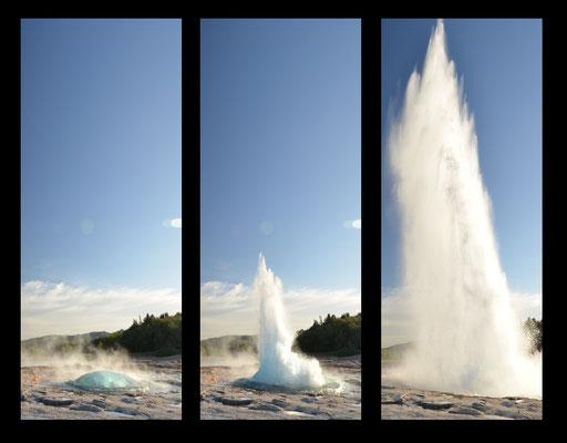 Geysir, un incontournable en Islande ! - Crédit Photo : Trip85.com