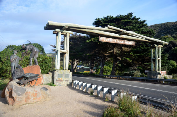 "Le panneau ""Great Ocean Road"""