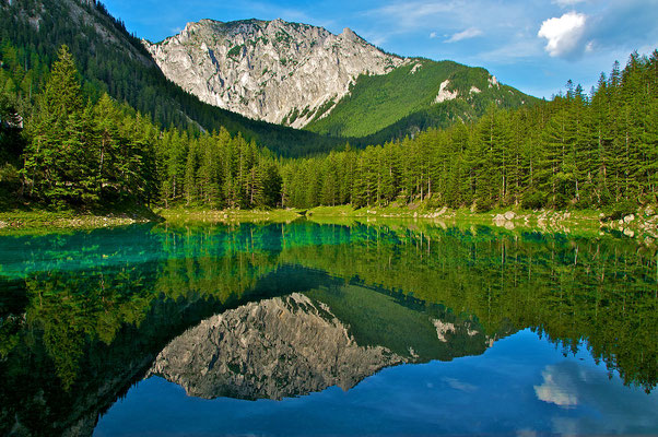 Le Lac Gruner Lake en Autriche - By Florian Orthaber (Own work) [CC BY-SA 3.0 at (http://creativecommons.org/licenses/by-sa/3.0/at/deed.en)], via Wikimedia Commons