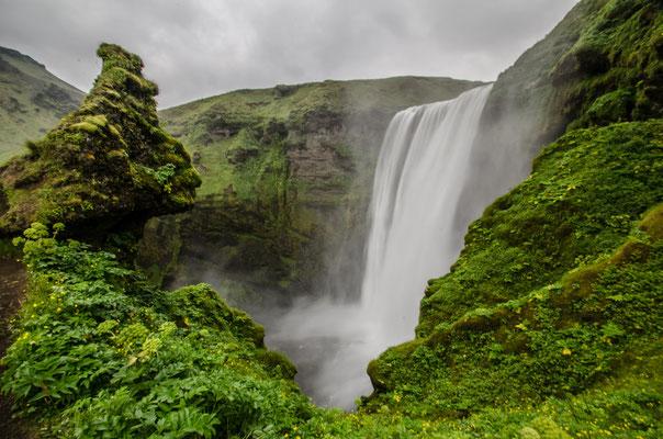 Skogarfoss, Islande