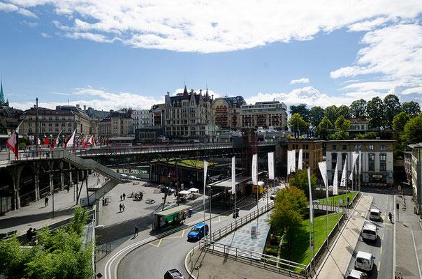 La ville de Lausanne est construite en escalier / Source : Flickr.com / Auteur :  xiquinhosilva / (CC BY 2.0)
