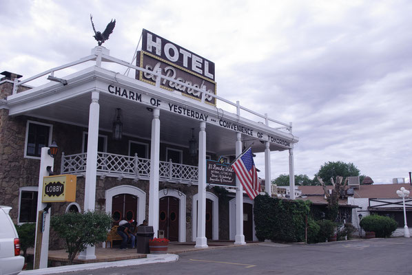 Dormri dans un motel mythique de la Route 66 !