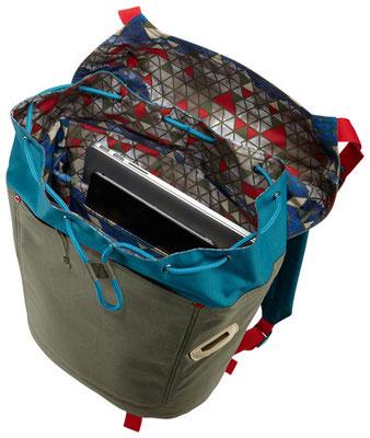 Emplacement pour PC et Tablette - Sac à dos Larimer - Crédit Photo : Case Logic