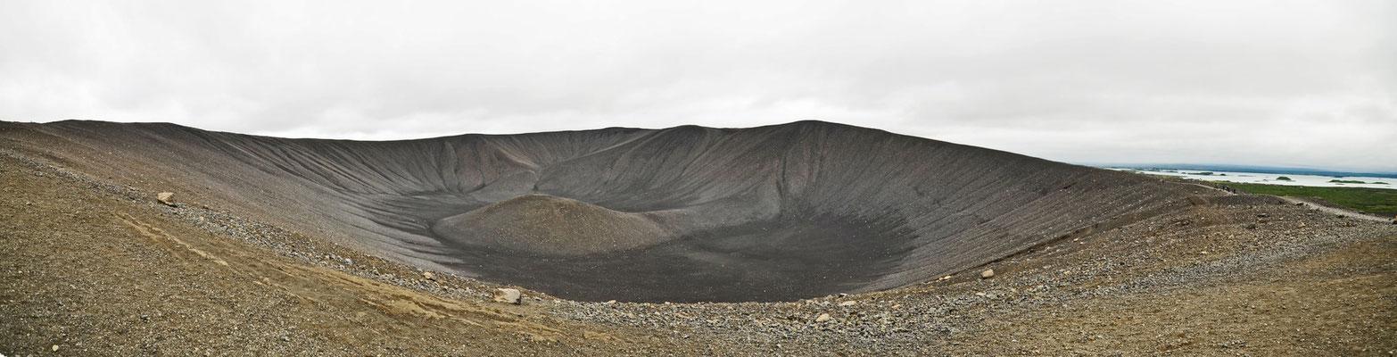 Cratère de Hverfell, Islande