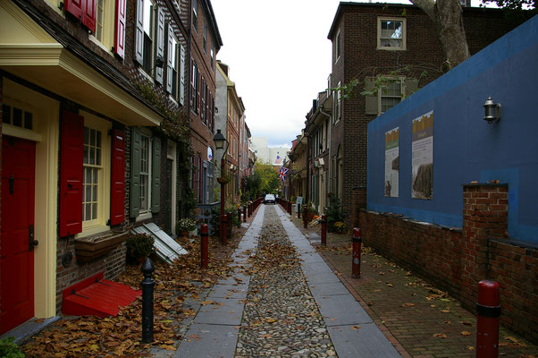 Ma rue préférée à Philly : Alfreth's Alley