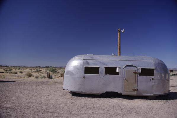 Dormir dans une caravane rétro dans l'ouest américain !