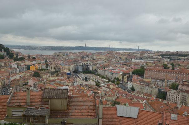 Vue sur tout Lisbonne !