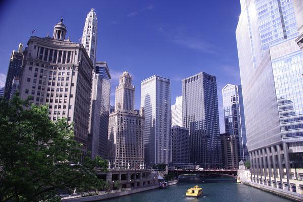 Croisière dans les canaux de Chicago !