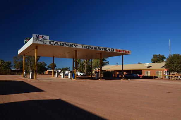 Station Service sur la Stuart Highway