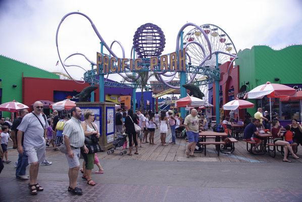 Le parc d'attractions de Santa Monica Pier
