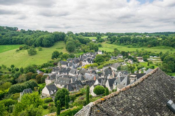 Le village de Turenne en Corrèze