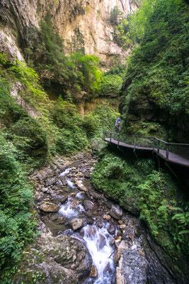 Au coeur des gorges de Kakuetta au Pays-Basque !