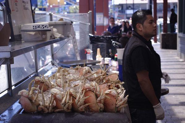 Manger du crabe à San Francisco au Fisherman's Wharf !