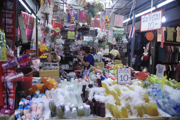 Au marché de Chatuchak Weekend Market !