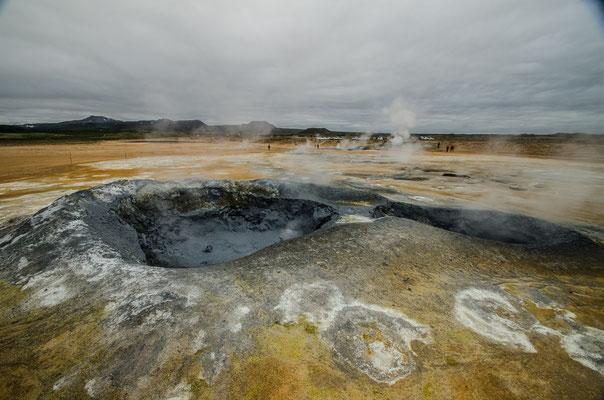 Hverir, Islande