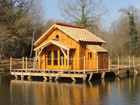 Cabane Flottante © Moulin de la Jarousse