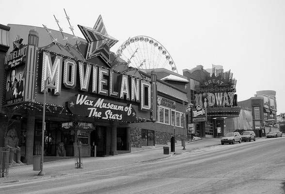 Les rues de Niagara Falls