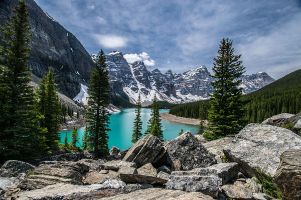 Lake Moraine - Canada