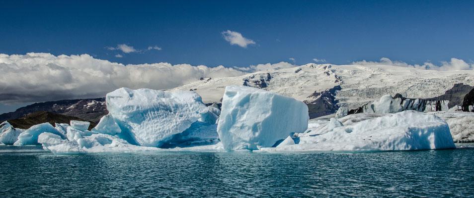 Les Iceberges de Jokulsarlon, Islande