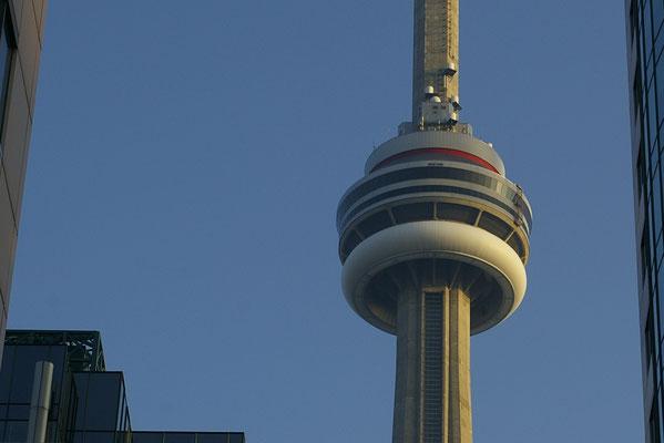 La plateforme d'observation de la CN Tower