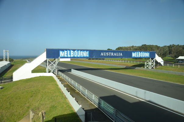 Le mythique circuit de Phillip Island