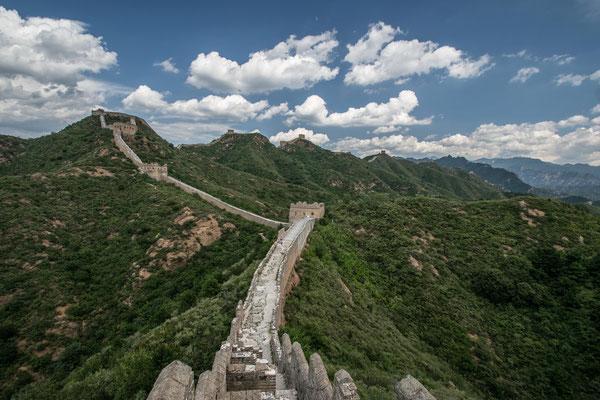 Sur la Grande Muraille de Chine, Simatai