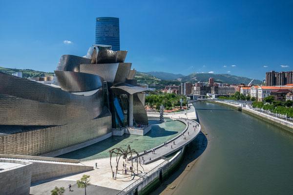 Le Musée du Guggenheim à Bilbao - Crédit Photo : Trip85.com