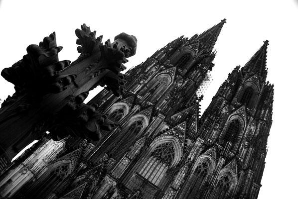 Les tours de la Cathédrale de Cologne !