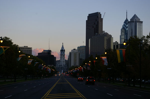 La nuit tombe sur Philly !