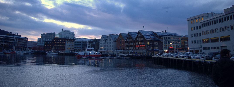 Le port de Tromso