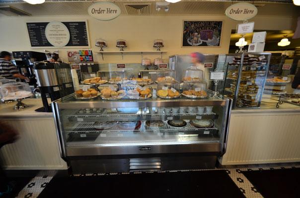 Chez Magnolia Bakery pour manger un bon cupcake !