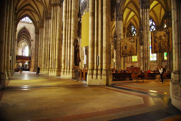 L'intérieur de la Cathédrale de Cologne