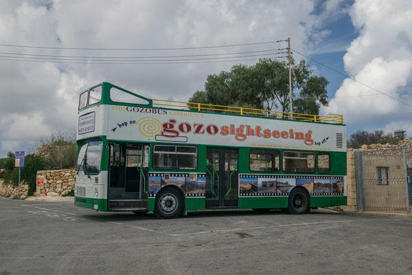 Bus touristique pour visiter l'essentiel de Gozo