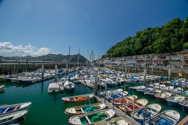 Le port de San Sesbastian