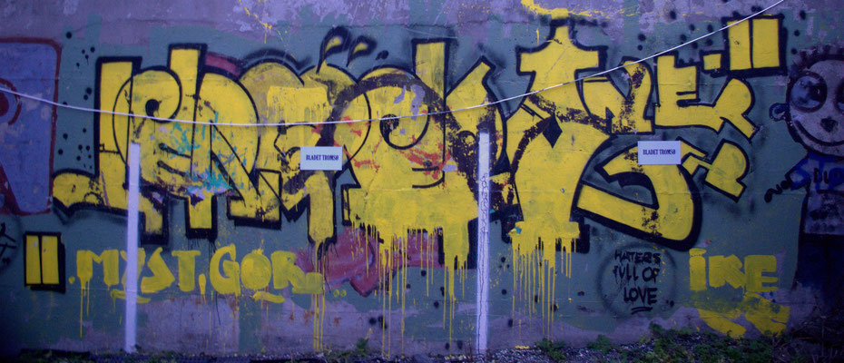 Street Art à Tromso