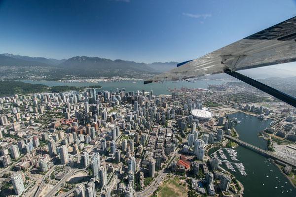 Survol de Vancouver en Hydravion - Copyright : Trip85.com