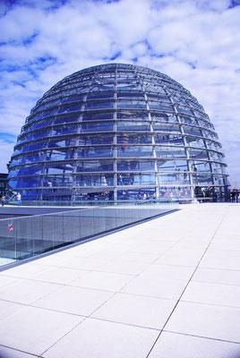 Sur le toit du Reichstag -  - Source : Trip85.com