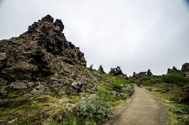 Dimmuborgir, Islande