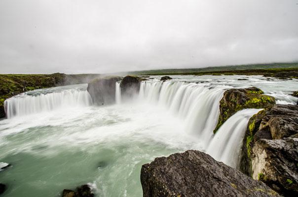 Les chutes de Godafoss, Islande