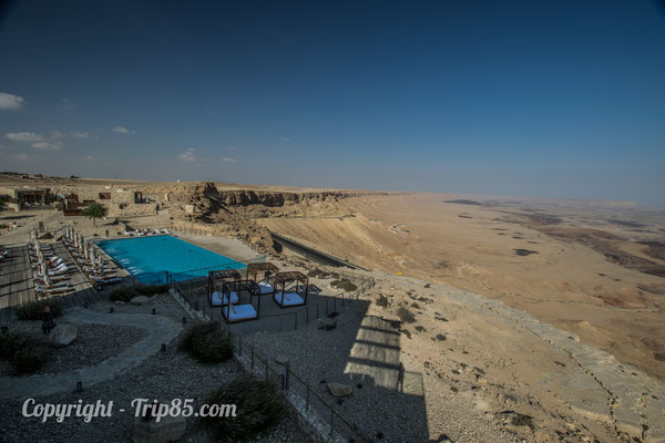 Hébergement insolite à Mitzpe Ramon - Beresheet Hotel - Crédit Photo : trip85.com