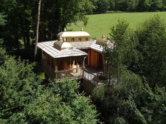 Le Moulin de la Jarousse - Dormir dans une cabane perchée.
