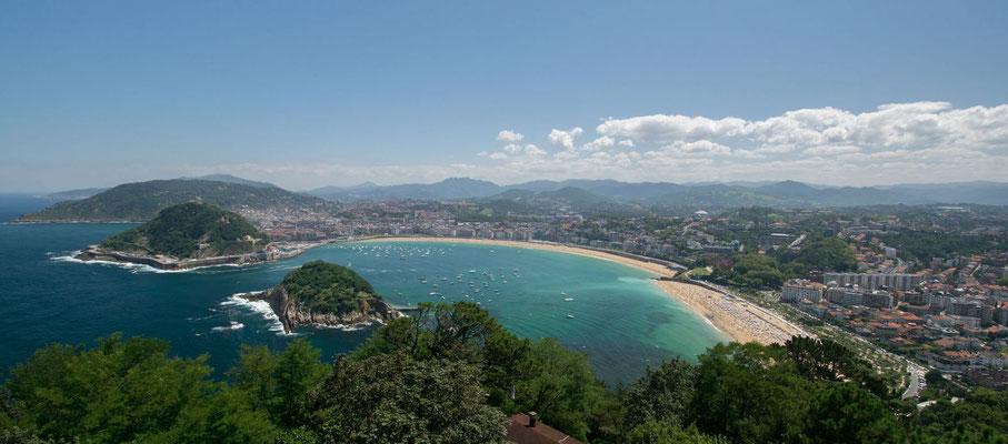 La baie de San Sebastian, l'une des plus belles du monde ! By TRip85.com