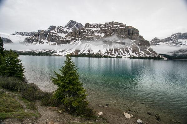 Le Lac de Bow sur l'Icefield Parkway au Canada - Auteur : Trip85.com