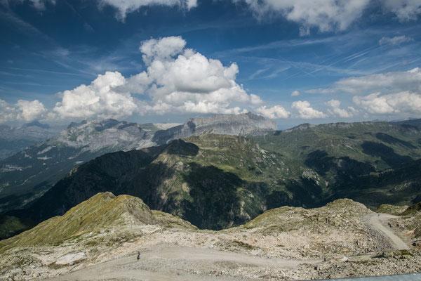 Au sommet du Brevent, en face de l'aiguille du midi !