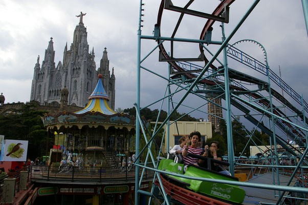 Le parc d'attraction de Tibidabo