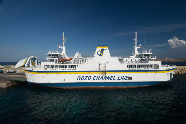 Les Ferries pour Gozo !